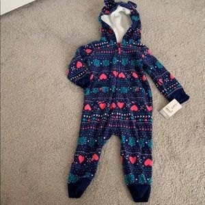 NWT Carter's baby girl cover up